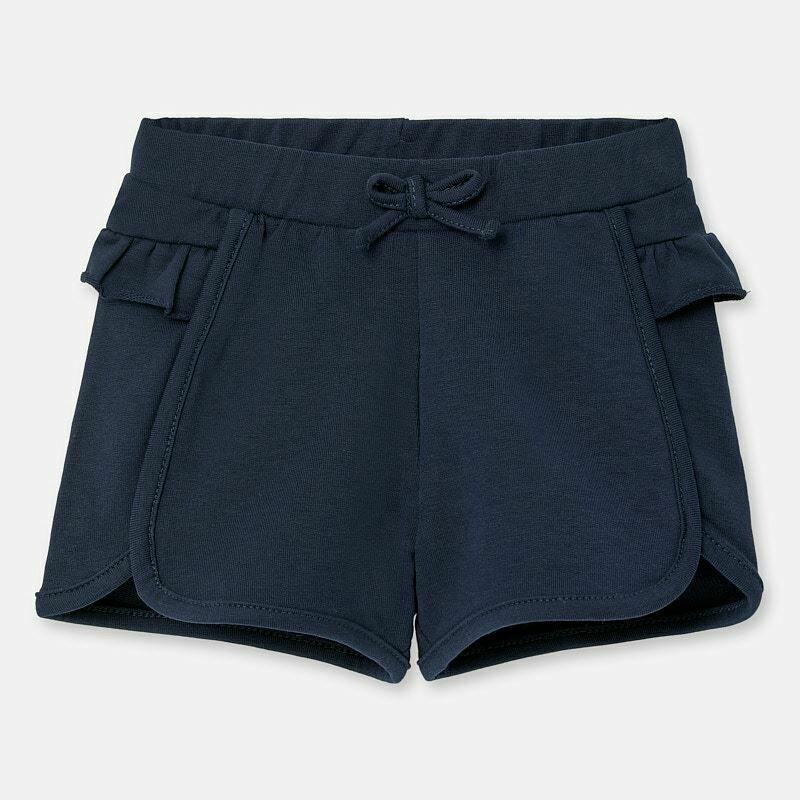 Navy Ruffle Shorts 1204 9m