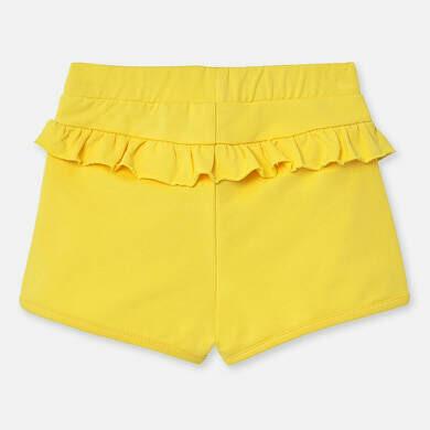 Yellow Ruffle Shorts 1204 18