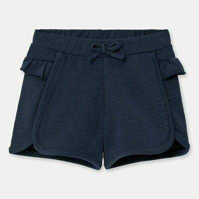 Navy Ruffle Shorts 1204 18m