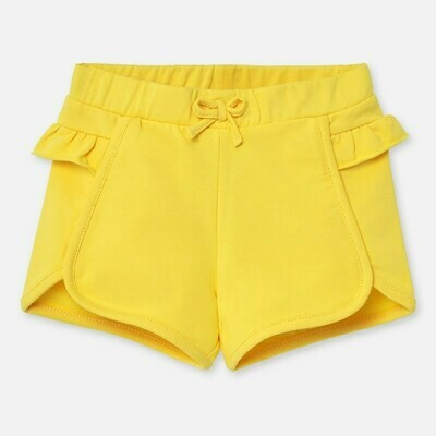 Yellow Ruffle Shorts 1204 9m