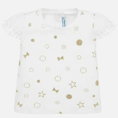 Glitter Star T-Shirt 1057 9m