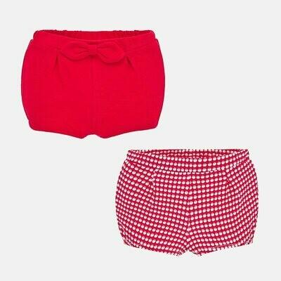 Red Diaper Set 1261 2/4m