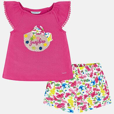 Sunshine Shorts Set 3293 3