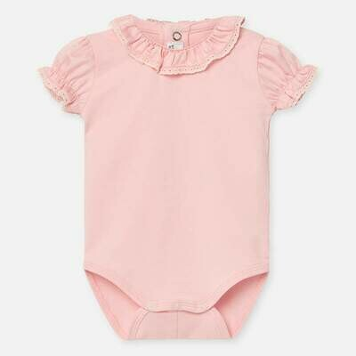 Pink Onesie 1782 6/9m