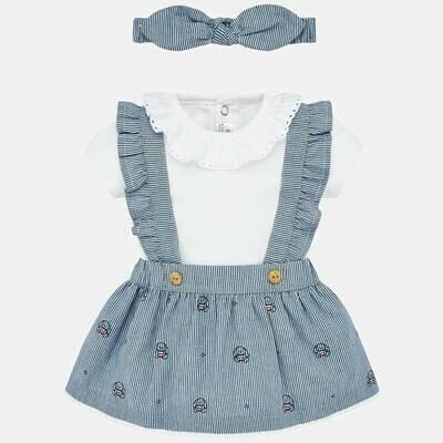 Overall Skirt Set 1863 6/9m