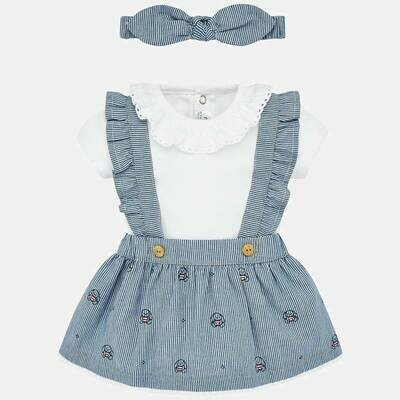 Overall Skirt Set 1863 12m