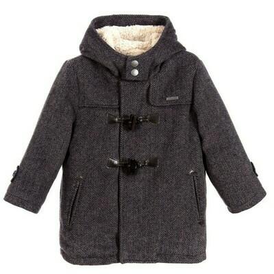 Grey Duffle Coat 4460-7