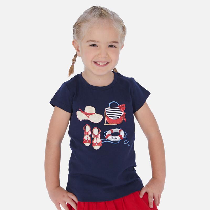 Navy T-Shirt 3017 3