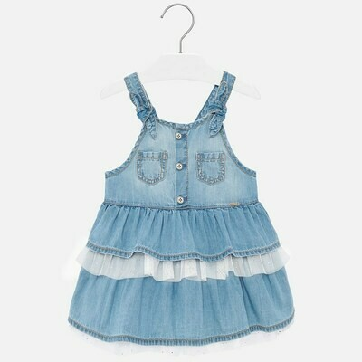 Denim Overall Skirt 1903 24m