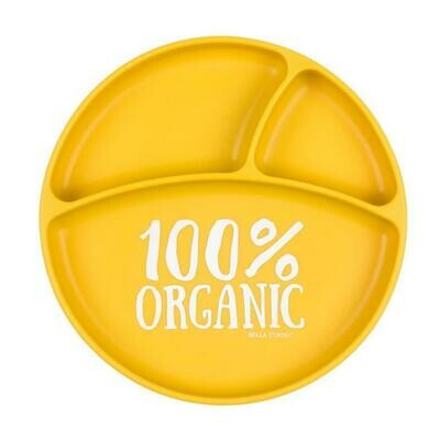 100% Organic  Plate