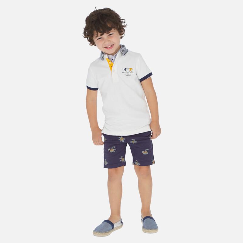Tiger Print Shorts 3251 5