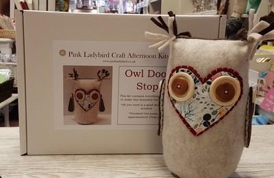 Craft Afternoon Kit - Owl Door Stop