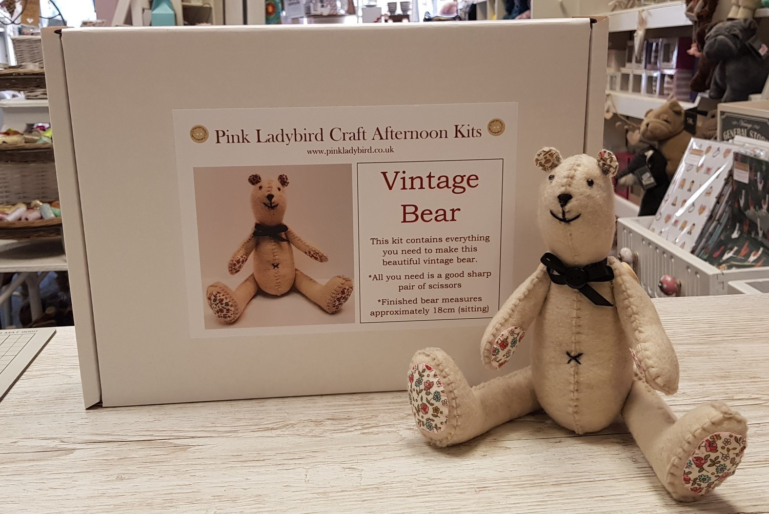 Craft Afternoon Kit - Vintage Bear
