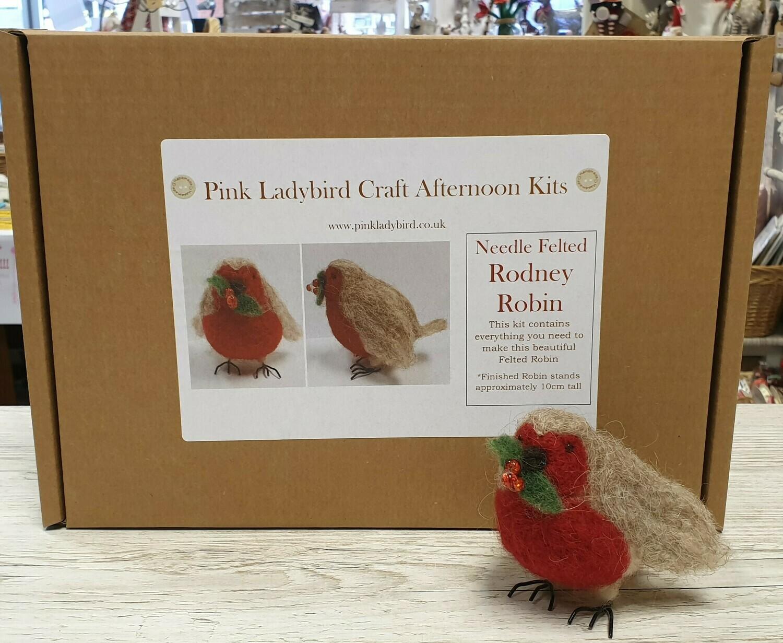 Craft Kit - Needle Felted Rodney Robin