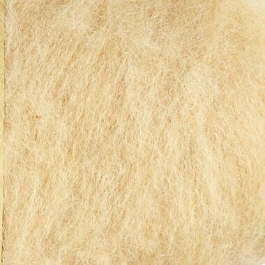 Carded Felting Wool  20 g - Light Skin / Peach