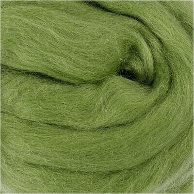 100% Merino Felting Wool - Cactus Green - 25g