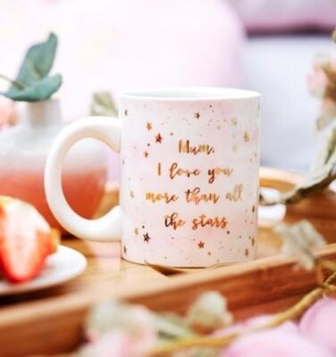 Scattered Stars Mum Love You More Mug
