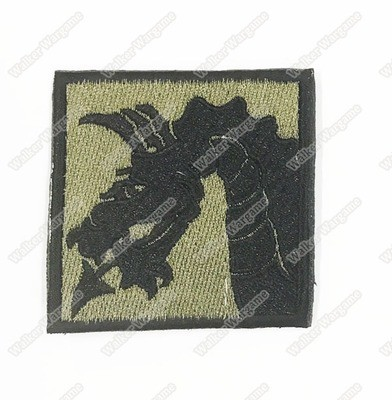 WG079 US Army 18th Airbone Corps Patch With Velcro - OD Green