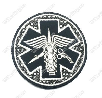 PB539 Medic Unit Patch With Velcro - Full Colour