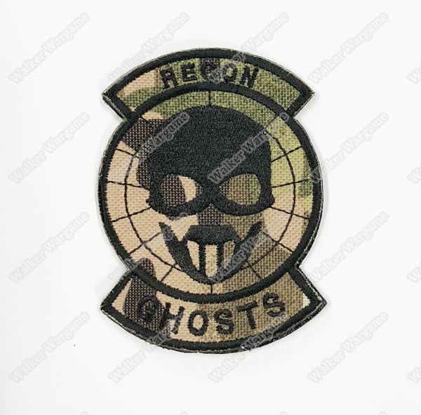 WG110 Ghosts Recon Special Forces US OPS Patch With Velcro - Multicam Colour