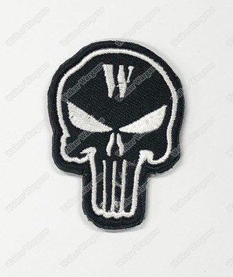 WG112 Walker Wargame 2018 New Logo Patch With Velcro - Black Color