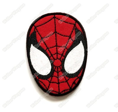 WG065 The Avengers -Spider Man Patch With Velcro - Full Color