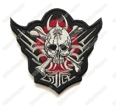WG070 Azrael Terminator Patch With Velcro - Full Color
