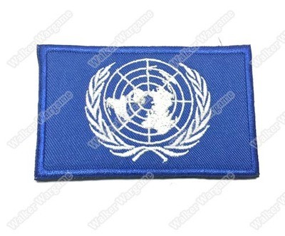 B2151 UN United Nations Peacekeeping Patch With Velcro - Full Color