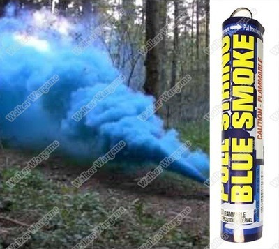 Pull String Airsoft And Paintball Tactical Battle Field Smoke Grenade