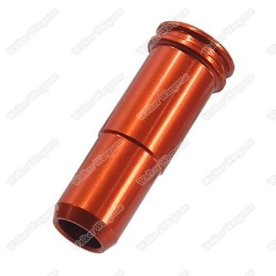 SHS Full Metal SR25 AEG CNC Air Seal Nozzle (CA,A&K SR25 AR10)