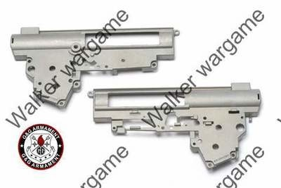 G&G Zinc Metal 8mm Gearbox Case Shell Ver. II For All M4