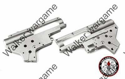 G&G Zinc Metal 8mm Gearbox Case Shell Ver. III For All AK RK