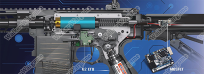 New G&G G2 Full Gear Box With MOSFET And ETU Unit