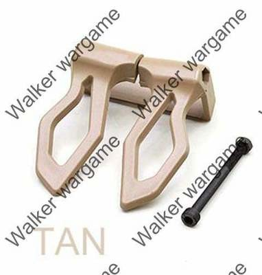 Tactical Molle MagClip for M4 / M16 Magazine Tan