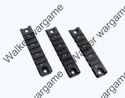 HK G36 Picatinny Side Rail X 2 pieces - Full Metal