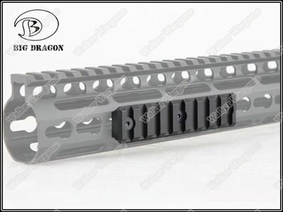 BD Tactical KeyMod Modular Picatinny Rail NOV NSR RAIL - 1 Pice Long