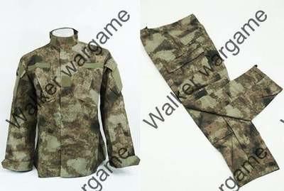BDU Battle Dress Uniform Full Set - A-Tacs Digital Camo AT