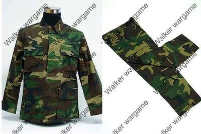BDU Battle Dress Uniform Full Set -  US Army Woodland