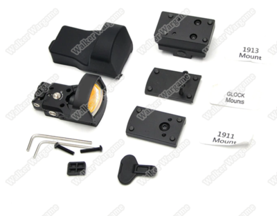 Eagle Mini Red Dot Scope For Pistol - With Glock,1911,RIS Mount
