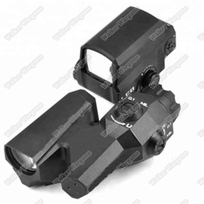 EVO Dual-Enhanced View Optic Reticle Rifle Scope 6X Magnifier with LCO Red Dot Sight Reflex Sight
