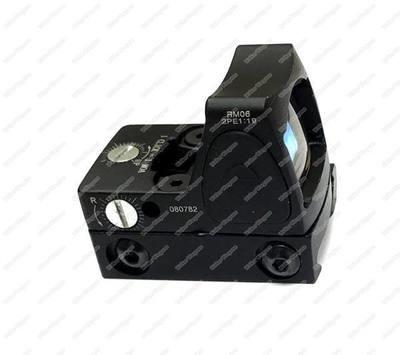 Tactical HY9042 Micro Red Dot Reflex Scope w/20mm Mount Scope - BL