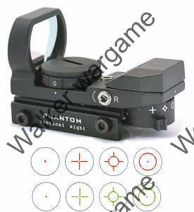 Multi-Reticle Compact Reflex Precision Sight