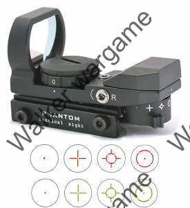Multi-Reticle Compact Reflex Precision Sight