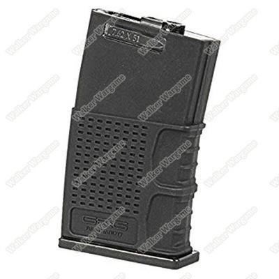 G&G Hi Cap Metal Magazine for MBR 308 G2H Series 370Rds - Black