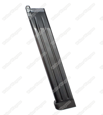 WE 50rds Long Magazine For HI-CAPA 4.3 5.1 7inch GBB Airsoft Pistol Mag
