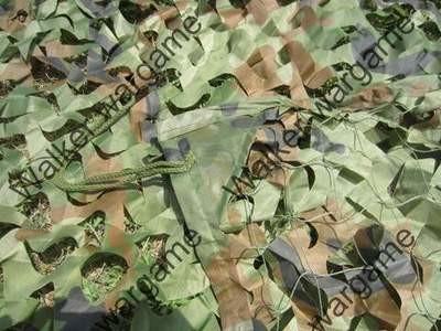 US Army Woodland Camo Net - 3 Meter * 2 Meter