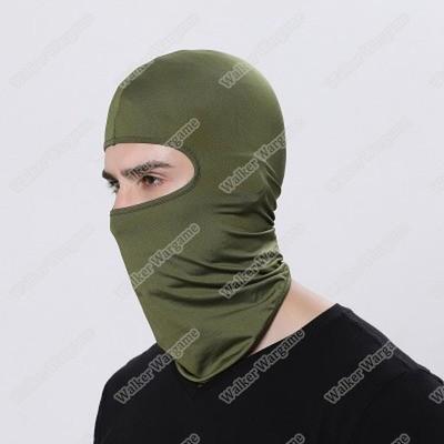 Balaclava Hood 1 Hole Head Face Mask - OD Green