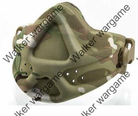 Emerson Tactical Soft Shell Half Face Protect Mask - Multi Camo