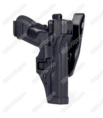 BWH Tactical Mid Ridge Level 3 Auto Lock Duty Holster