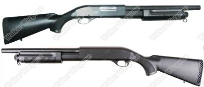 CYMA 350M Full Metal Remington 870 Pump Action Shotgun (Shot 3 BB Per Time)